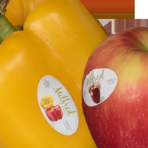 Produce labels